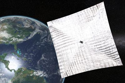 Bill Nye's organization launched a solar sail. It could change space travel.