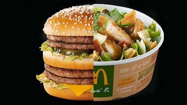 WOW: A McDonald's Kale Salad Has More Calories Than a Double Big Mac