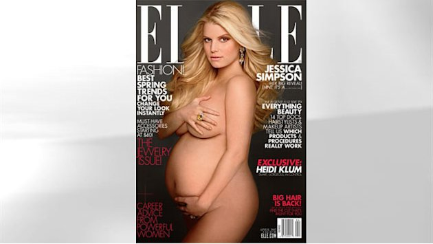 Celebs Pose Pregnant
