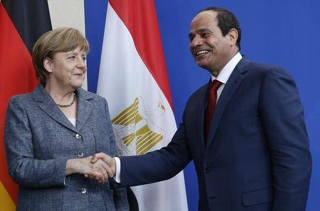 Merkel tells Egypt's Sisi: death penalty is wrong but let's trade