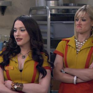 2 Broke Girls - The New Dish Washer