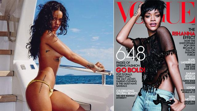 Rihanna's Style Tip: Ditch the Bra!