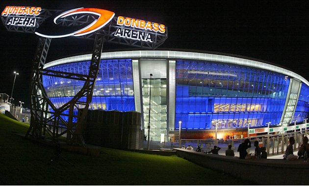 General view of the new Donbass Arena st