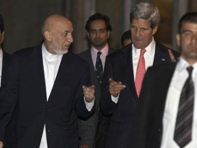 Raw: Kerry in Afghanistan for Urgent Talks