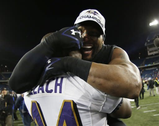 Ravens upset Patriots 28-13 to reach Super Bowl