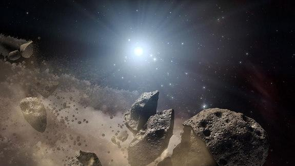 For Small Asteroids, Sunlight Spawns Dust (and Maybe Death)