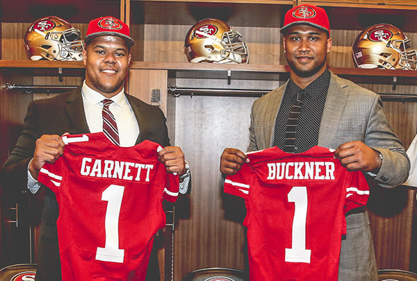 Young 49ers look to lead the way