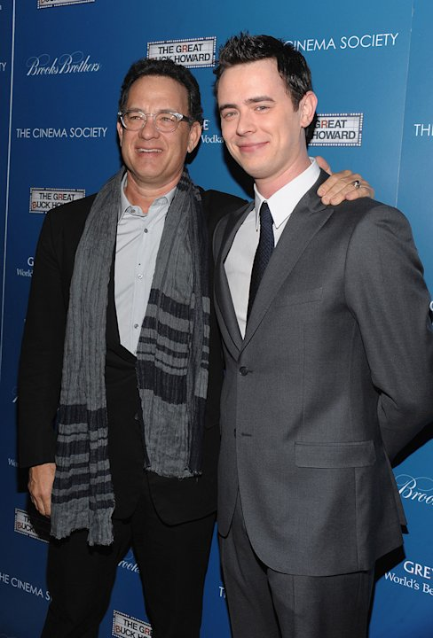 The Great Buck Howard NY Premiere 2009 Tom Hanks Colin Hanks