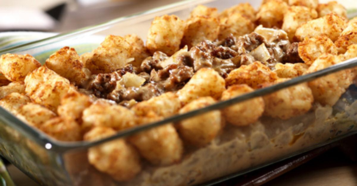 Tater Topped Casserole