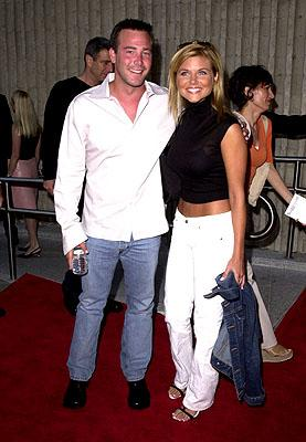 Premiere: Richard Ruccolo and Tiffani Thiessen at the Westwood premiere of 20th Century Fox's Dr Dolittle 2 - 6/19/2001