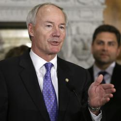 Arkansas Governor Warns GOP Not To Overstate Clinton Book Allegations
