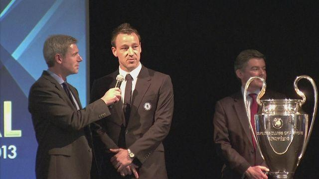 """John Terry """"sad"""" to give Chmapions League trophy back [AMBIENT]"""