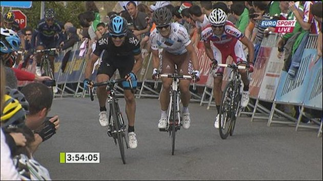 0403 Basque Tour : Stage 3 Finish