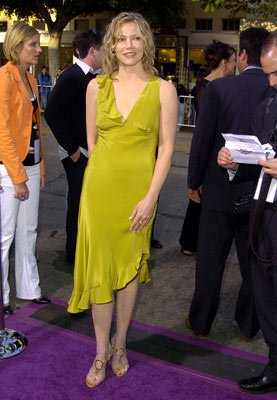 Stacey Travis at the L.A. premiere of MGM's Soul Plane