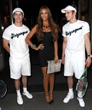 Rochelle Wiseman does Wimbledon style in sexy LBD