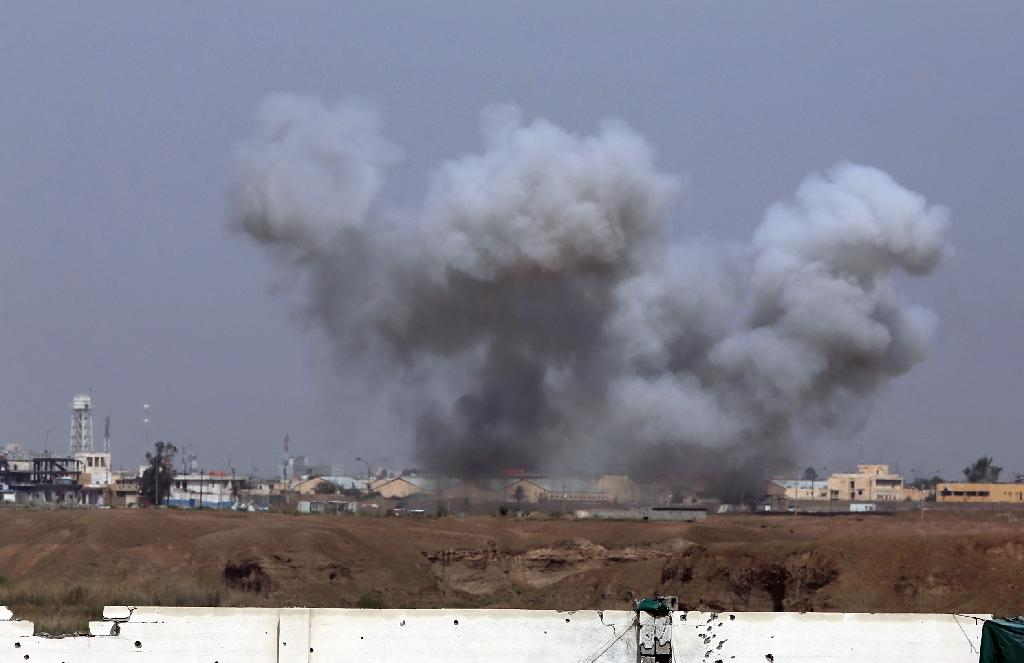 US-led coalition says IS still holds parts of Iraq's Tikrit