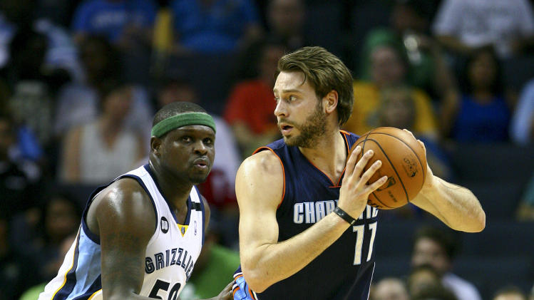 NBA: Charlotte Bobcats at Memphis Grizzlies