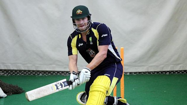 Shane Watson has returned home from the tour of India