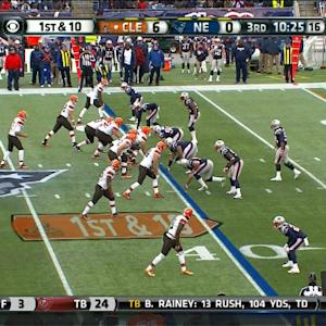 Cleveland Browns tight end Gary Barnridge 40-yard touchdown catch