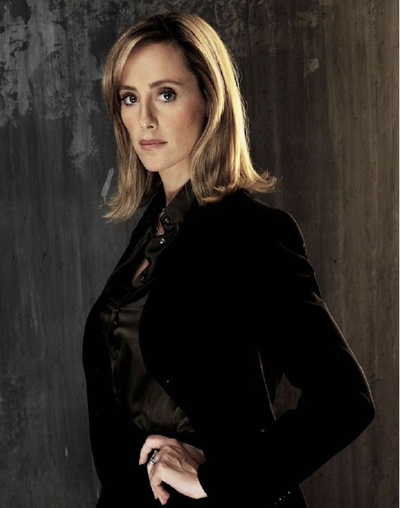 Kim Raver as Audrey Raines in 24 on FOX. 