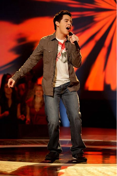 David Archuleta performs as …