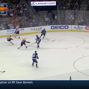 Ben Bishop Save on Pierre-Edouard Bellemare (13:40/2nd)