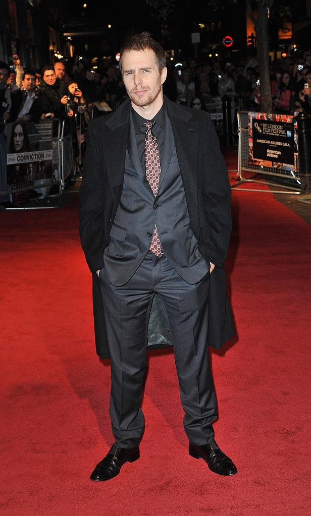 54th Annual BFI London Film Festival 2010 sam Rockwell