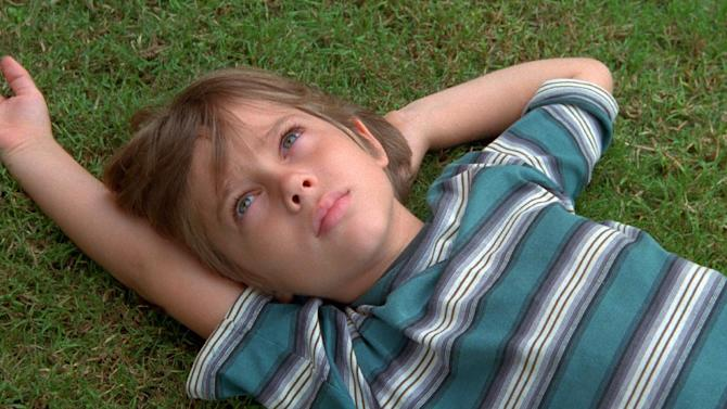 "This image released by IFC Films shows Ellar Coltrane at age six in a scene from the film,""Boyhood."" Richard Linklater's 12-year-long family drama ""Boyhood"" leads the Gotham Independent Film Awards with four nominations including best feature. The Independent Filmmaker Project, which presents the awards, announced nominations Thursday, Oct. 23, 2014, for its 24th annual awards to take place December 1 in New York. The Gothams honor independent film and mark one of the first galas in the film industry's lengthy awards season. (AP Photo/IFC Films)"
