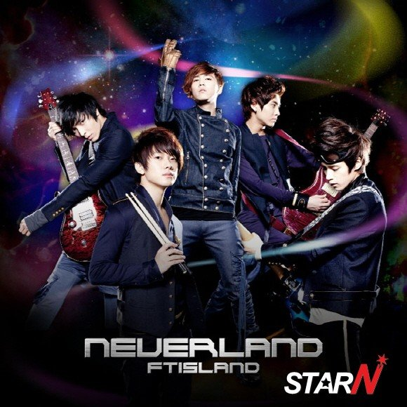 FT Island's English version of a Japanese animation theme song released