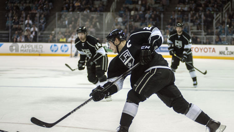 NHL: Los Angeles Kings at San Jose Sharks