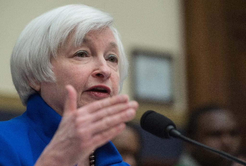 Yellen 'surprised' at extent of Europe's negative rates