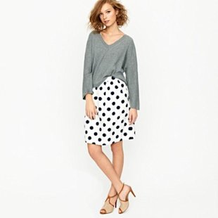 Big-Shot Dot Circle Skirt