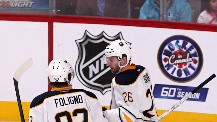 NHL: Buffalo Sabres at Montreal Canadiens
