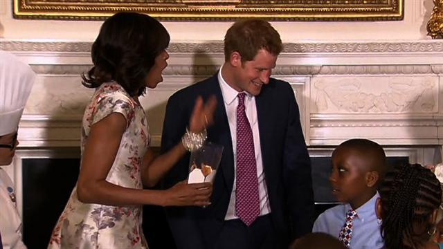 Royal visit: Harry-mania on Capitol Hill