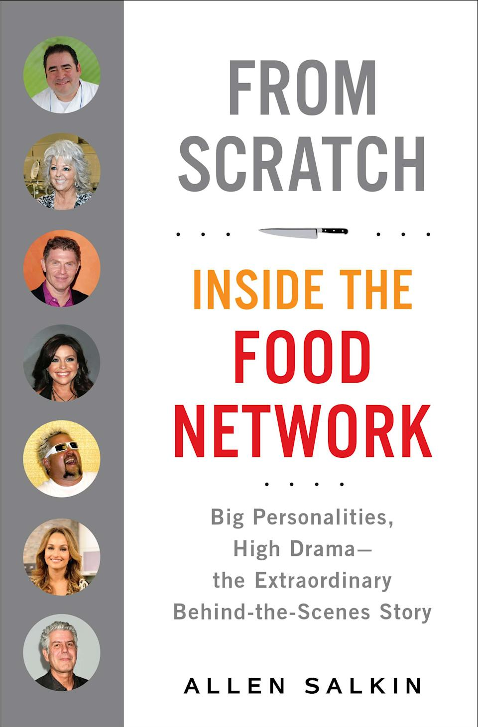 "This book cover image released by Putnam shows ""From Scratch: Inside the Food Network, Big Personalities, High Drama - the Extraordinary Behind-the-Scenes Story,"" by Allen Salkin. (AP Photo/Putnam)"