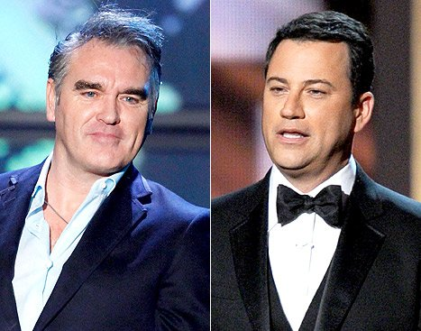 "Morrissey Cancels Jimmy Kimmel Live Appearance Over Duck Dynasty Guests, Kimmel Calls Statement ""Dumb"""