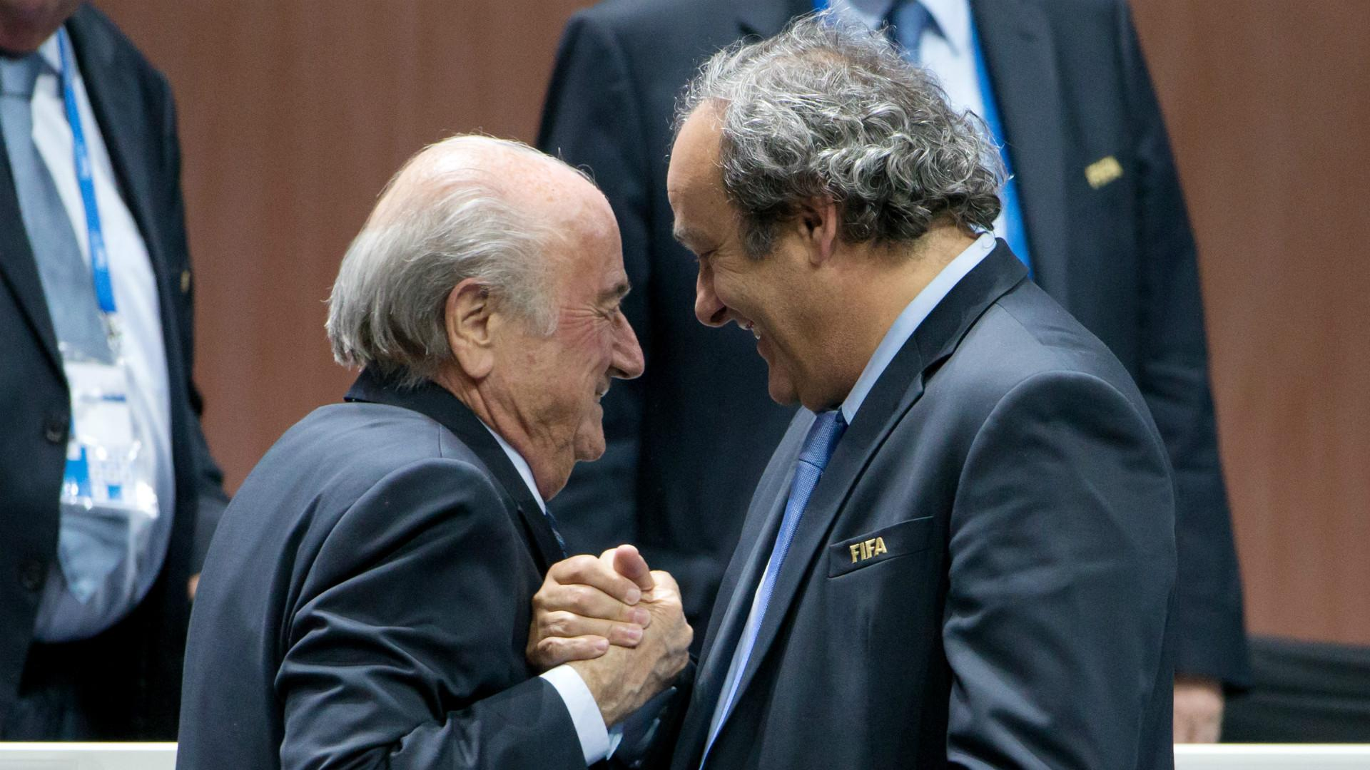 Russia to invite Blatter and Platini to World Cup 2018