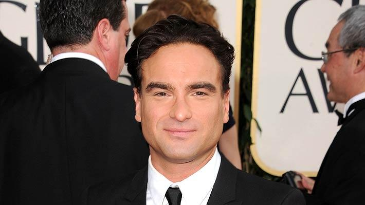 Johnny Galecki Golden Glb Awards