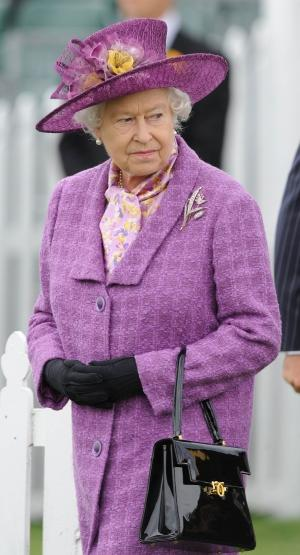 "Queen Elizabeth II in ""morning dress"""