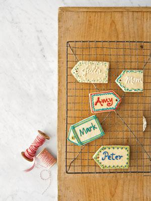Sugar Cookie Name Tags