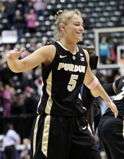 Rayburn's basket pushes Purdue past Penn State