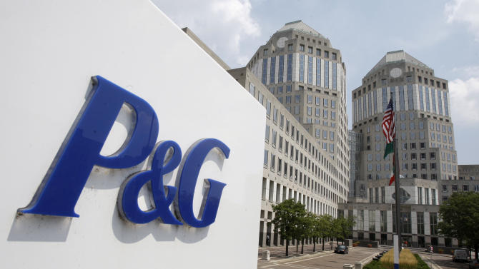 Procter & Gamble adjusted 4Q results beat Street