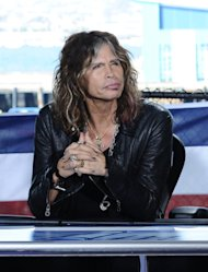 This Oct. 10, 2011 photo released by Fox shows &quot;American Idol&quot; judge Steven Tyler during auditions for the singing competition series in San Diego. Tyler, who quit the show, admits he liked the paychecks, but had a love-hate relationship with the show. In an interview with Rolling Stone, Tyler says the series is not my cup of tea. Tyler tells the magazine he took the job because it was a good way to pass the time while he and his band mates worked out their behind-the-scenes conflicts. He also says he didn&#39;t have it in him to be negative to contestants. (AP Photo/Fox, Michael Becker)