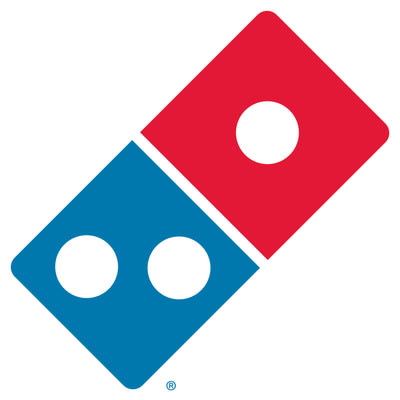 Domino's Pizza unveils new logo. Will be seen on all new stores and those undergoing major renovations.
