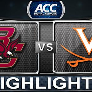 Boston College vs Virginia | 2014 ACC Women's Basketball Tournament Highlights