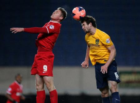 Soccer - FA Cup - Third Round - Oxford United v Charlton Athletic - Kassam Stadium
