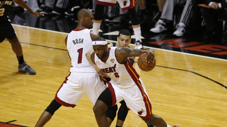 NBA: Finals-San Antonio Spurs at Miami Heat