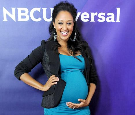 "Tamera Mowry Savoring ""Peace and Quiet"" Before Giving Birth to Son"