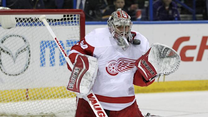 Datsyuk scores late in OT to lift Red Wings over Blues