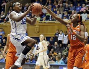 No. 4 Duke women rout Clemson 82-45 in ACC play